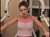 Workout Room Blowjob